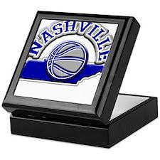 Nashville Basketball Keepsake Box