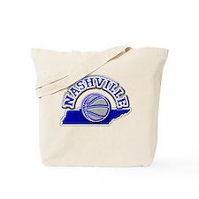 Nashville Basketball Tote Bag