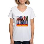 Shriner Color Guard Women's V-Neck T-Shirt