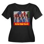 Shriner Color Guard Women's Plus Size Scoop Neck D
