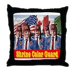 Shriner Color Guard Throw Pillow