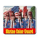 Shriner Color Guard Mousepad
