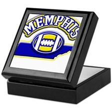 Memphis Football Keepsake Box