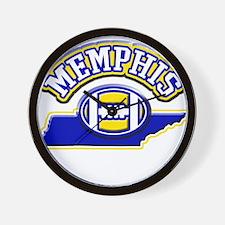 Memphis Football Wall Clock