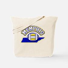Memphis Football Tote Bag