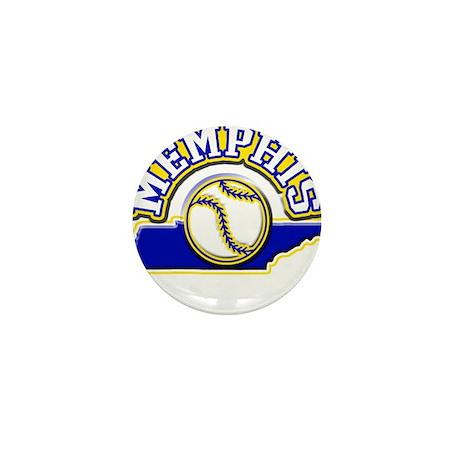 Memphis Baseball Mini Button