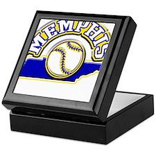 Memphis Baseball Keepsake Box