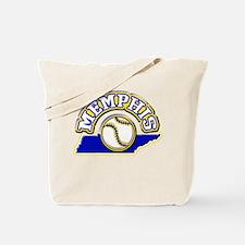 Memphis Baseball Tote Bag