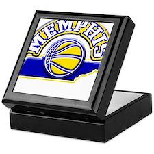 Memphis Basketball Keepsake Box