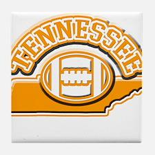 Tennessee Football Tile Coaster