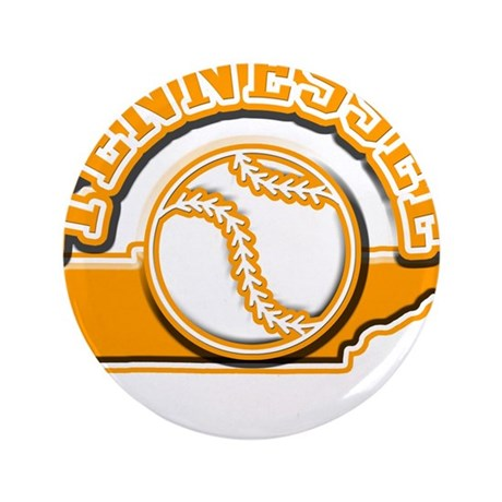 """Tennessee Baseball 3.5"""" Button (100 pack)"""