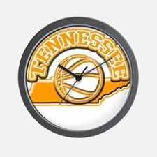 Tennessee Basketball Wall Clock