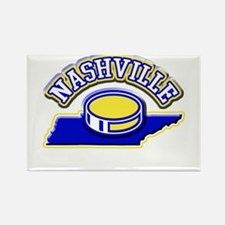 Nashville Hockey Rectangle Magnet