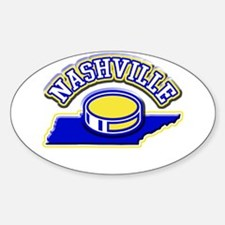 Nashville Hockey Oval Decal