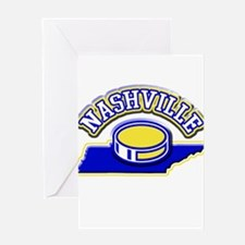 Nashville Hockey Greeting Card