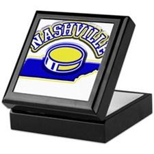 Nashville Hockey Keepsake Box