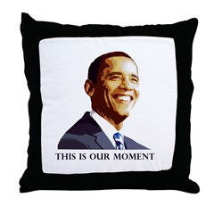 This is our Moment Throw Pillow