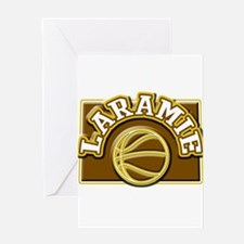 Laramie Basketball Greeting Card