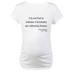 Thomas Jefferson 4 Maternity T-Shirt