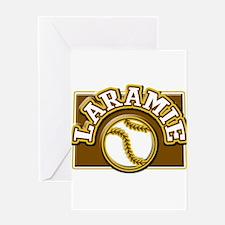 Laramie Baseball Greeting Card
