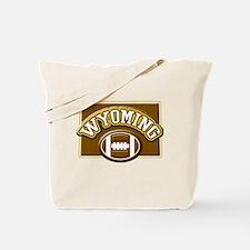 Wyoming Football Tote Bag