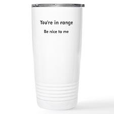 Cute Shooting Thermos Mug