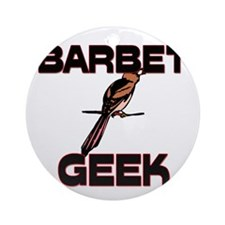 Barbet Geek Ornament (Round)