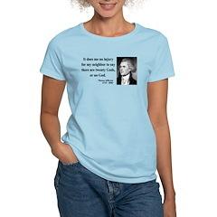 Thomas Jefferson 9 T-Shirt