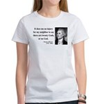 Thomas Jefferson 9 Women's T-Shirt