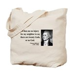 Thomas Jefferson 9 Tote Bag