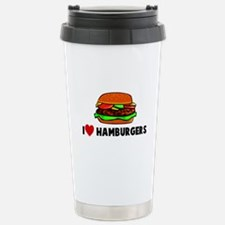 I heart hamburgers Travel Mug
