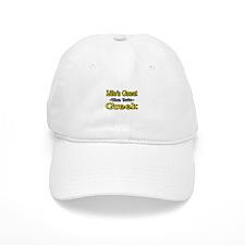 """Life's Great..Greek"" Baseball Cap"