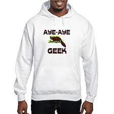 Aye-Aye Geek Hoodie