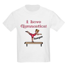 -I Love Gymnastics (Raegan) T-Shirt