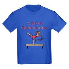 -I Love Gymnastics (Raegan) T