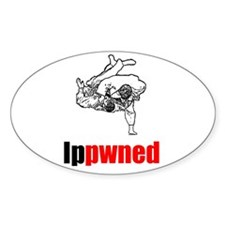Ippwned Oval Decal