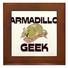 Asian Elephant Geek Framed Tile