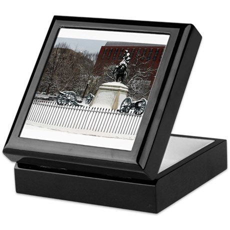 Andrew Jackson In The Snow Keepsake Box