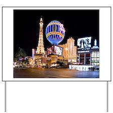 Paris Las Vegas Yard Sign