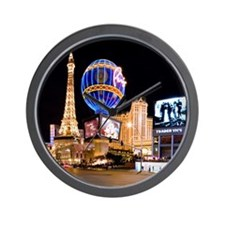 Paris Las Vegas Wall Clock