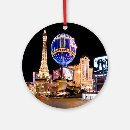 Paris Las Vegas Ornament (Round)
