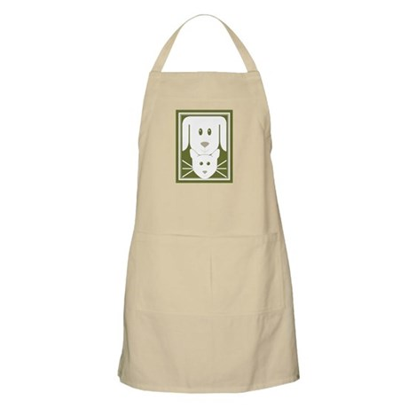 Friendship Dog & Cat BBQ Apron