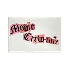 Movie Crew Rectangle Magnet