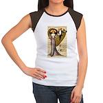 Valentine Cherub Women's Cap Sleeve T-Shirt