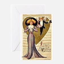Valentine Cherub Greeting Card