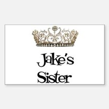 Jake's Sister Rectangle Decal