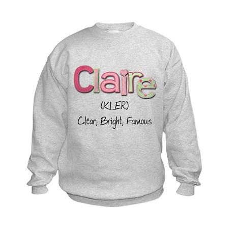 Claire Kids Sweatshirt