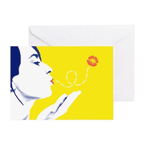 Blown Kiss Card