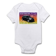 MINI COOPER-THE BEST THINGS COME...Infant Bodysuit
