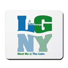 Meet me at the Lake! -  Mousepad